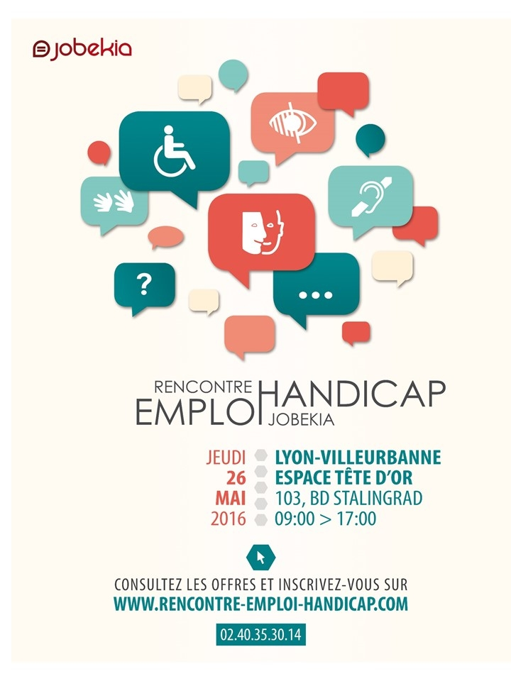 Rencontre emploi handicap jobekia