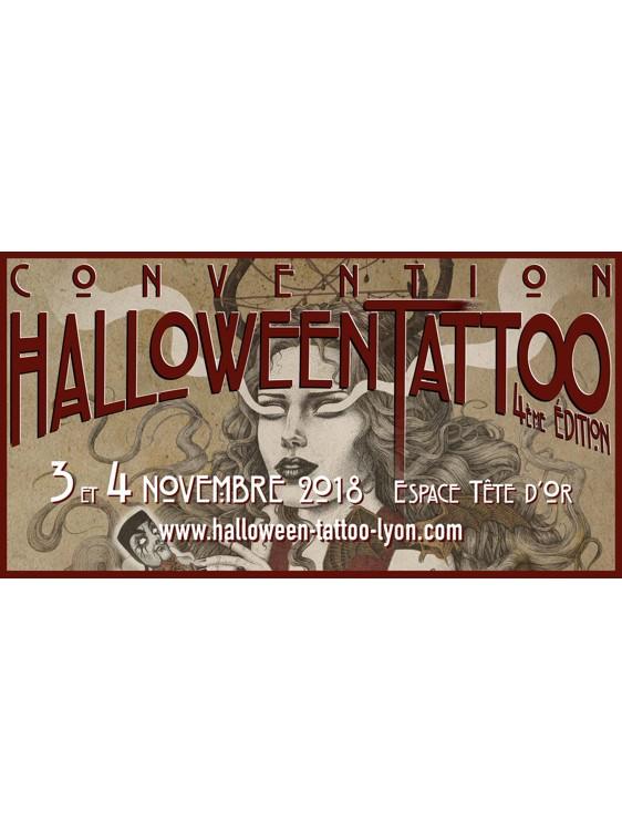 Novembre 2018 Convention Halloween Tattoo Lyon Espace Tete D Or
